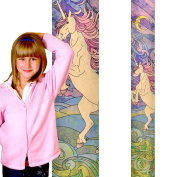 Growth Chart Art | Mythical Creatures | Baby Shower Gift | Wall Hanging Wooden Height Chart for Girls | Nursery Wall Decor | Unicorn