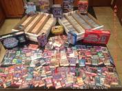 200 YuGiOh Card Lot! 15 Rares & 10 Holos .   YuGiOh Collector's Tin!, Model