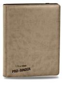 Premium PRO-BINDER 9-Pocket Cards, Tan, Model