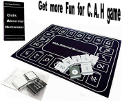 Star-Signs Cards Expansion For C. A. H. Card Game. Include A Star-Sign Houses Playmat,21 Star-signs cards,40 blank DIY cards.( Official Card Game Sold Separately), Model