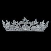 Austrian Rhinestone Crystals Little Flower Girl Bridal Wedding Tiara Crown Party Hair Jewellery Accessories SHA8562A