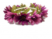 Pastel Daisy Flower Wreath Headband :A5
