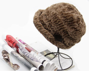Winter WarmWinter Warm Head beanies & Pineapple Pattern Plush Cap & Elegant Lady Keep Head Warming By This Cap