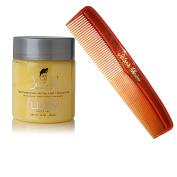 Bundle - 2 Items : Johnny B Fuddy Matte Styling Gel, 470ml & Salon's Choice Barber Comb