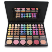 Terrece 78 Colours Professional Makeup Kit Eyeshadow Eyeshade Eye Shadow Highlighter Blush Blusher Bronzer Lipstick Lip Gloss Concealer Portable Makeup Palette With Mirror And Brushes, #1