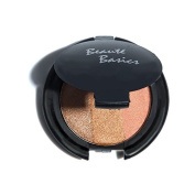 Beaute Basics 3 Tone Bronzer Blush Trio Shimmering Pressed Powder