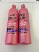 2 pck - Salon Selectives Moisture Renewal Conditioner 410ml