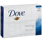 Dove Beauty Bar, White