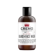 Cremo All-In-One Beard & Face Wash, Astonishingly Superior Beard Care for all Lengths of Facial Hair, 120ml Bottle