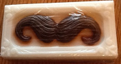 Handsome Man with a moustache soap