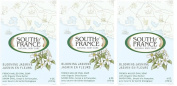 South of France Soap Blooming Jasmine 180ml, 3 Pack