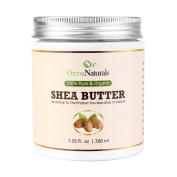 Organic Shea Butter : Unrefined, Pure, Raw Ivory Shea Butter 470ml – Skin Nourishing, Moisturising & Healing, For Dry Skin, Anti-Inflammatory -For Skin Care, Hair Care & DIY Recipes