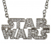 Star Wars Logo Necklace Pendant Charm Rock Rebel Officially Licenced Accessory