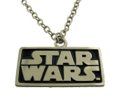 Star Wars Text Logo Necklace Pendants Charm Dog Tag Rock Rebel Official Licenced