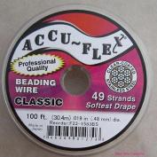 Accu-flex Beading Wire .48cm Width 49 Strand 30m