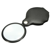BephaMart 10X Hand-Hold Magnifying Magnifier Glass Foldable Portable Jewellery Loop Loupe