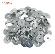 Andiny 100pcs Metal Candle Wick Sustainer Tabs,For Candle Making,Candle DIY