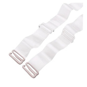 1.5 CM Width Transparent Adjustable Replacement Bra Straps