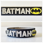 Batman rhinestone bracelet/ batman jewellery