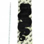GEX 20cm - 80cm 8A 100g/Bundle Unprocessed Brazilian Virgin Remy Hair Weft Hair Extension Body Wave Natural Black 46cm