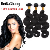 BeiKaShang unprocessed Brazilian virgin hair body wave 3 bundles Human hair extensions weaves 16x18x20