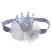 Creazy® Head Accessories Hairband Baby Elastic Flower Crown Headwear