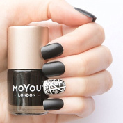 MoYou London Stamping Nail Lacquer - Black Knight