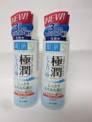 Rohto Hadalabo Gokujyun Hyaluronic Acid Lotion (Moist) - 170ml 2bottles