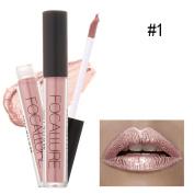eshion New Fashion Lipstick Cosmetics Women Sexy Lips Matte Lip Gloss Party