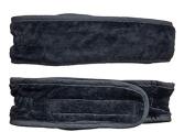 Facial headband best headband for washing the face black soft fabric
