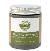 Dead Sea Mud Mask for Face, Body & Hair Treatment. 100% Natural minerals from Dead Sea, 250g / 260ml