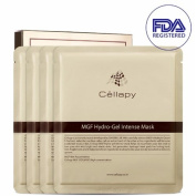 Cellapy MGF Hydro-Gel Intense Mask Sheet 25g 4pcs Set for Irritable, Sensitive & Dry skin