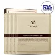 Cellapy MGF Hydro-Gel Intense Mask Sheet 25g 4pcs Set for Irritable, Sensitive & Dry skin