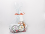Makes 3 Organic Gift Basket, The Perfect Present For Family & Friends | Organic Soap + Balm
