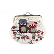 Coin Purse,Misaky Womens Owl Wallet Card Holder Clutch Handbag
