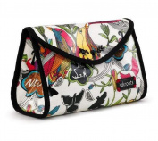 Sakroots Flap Cosmetic Bag, Optic Peace