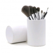 GAMT 8 Beginners Fibre Brushes Makeup Brush Sets White