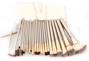 GAMT 24 Professional Makeup Brush Sets Cosmetic Tools Creamy¡ªwhite