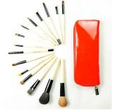 GAMT 15 Animal Brushes Professional Makeup Brush Sets Red
