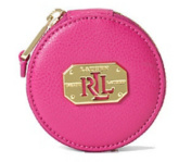 Ralph Lauren Acadia Lea Pocket Mirror Bright Rose