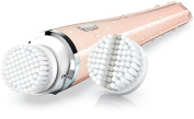 Philips PureRadiance Multi-Speed Skin Face Cleansing System | Two Brush Heads | Sonic Technology | Peach