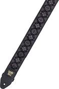 Ernie Ball Regal Black Jacquard Guitar Strap