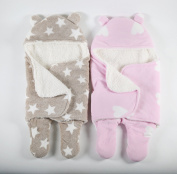 Ultra Soft Swaddle Blanket Extra Thick for Comfort Keep Baby Cosy & Warm