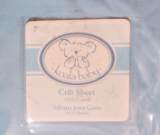Koala Crib Sheet, Blue