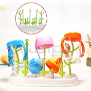 Wonderpark - High Capacity Baby Bottle Drying Rack Twigs Shaped Multi-functional Anti-Bacterial