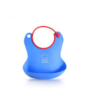 Babyhood Waterproof Baby Bib Soft Silicone Baby Bibs Soft, Non Absorbent,Stain Resistant Easy To Keep Clean