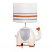 Natures Purest My First Friend Elephant Nursery Lamp Base and Shade