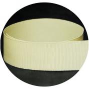 USA Made 2.2cm Cream / Natural Solid Grosgrain Ribbon - 20 Yards -