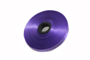 Purple 2pcs 1.3cm Wide 54 Yard Wedding Craft Plastic Ribbons Wedding Christmas New Year Decoration