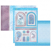 Hunkydory Flutterbye Rainbow Beautifully Blue Topper Set Card Kit